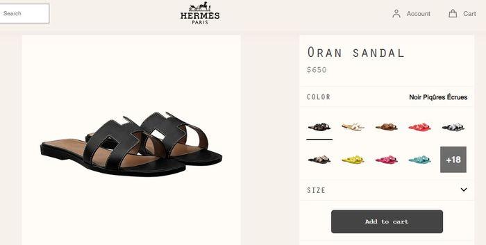 Harga sandal Puput