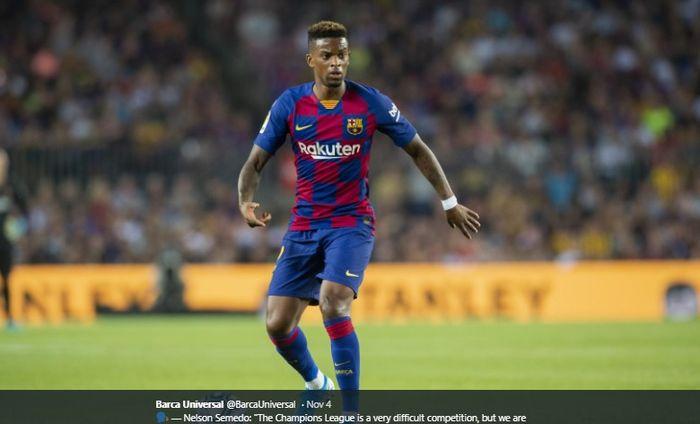 Bek kanan Barcelona, Nelson Semedo.