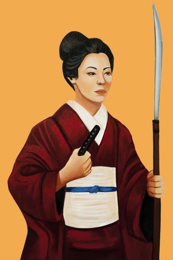Nakano Takeko.