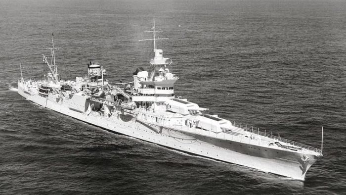 USS Indianapolis (CA-35), 27 September 1939