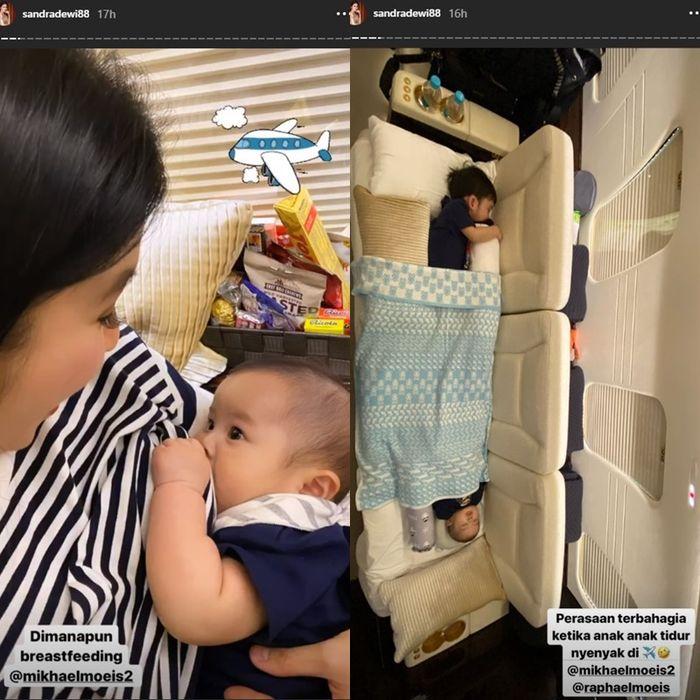 Sandra Dewi mengunggah jet pribadinya