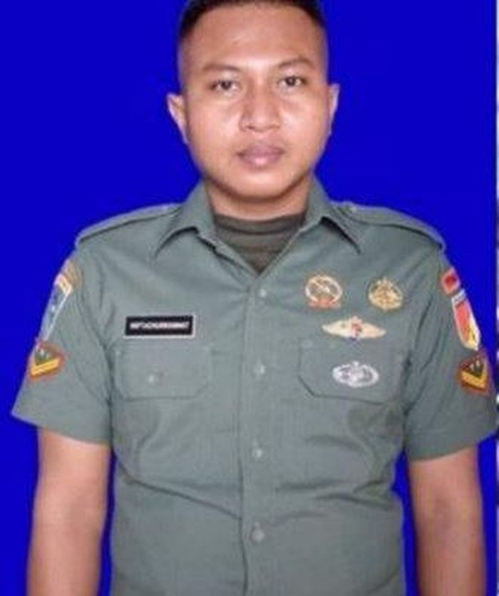 Sertu Miftachur Rohmat (Dok. Warta Kota)