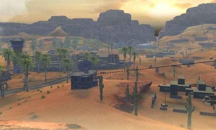 Map Kalahari di Free Fire