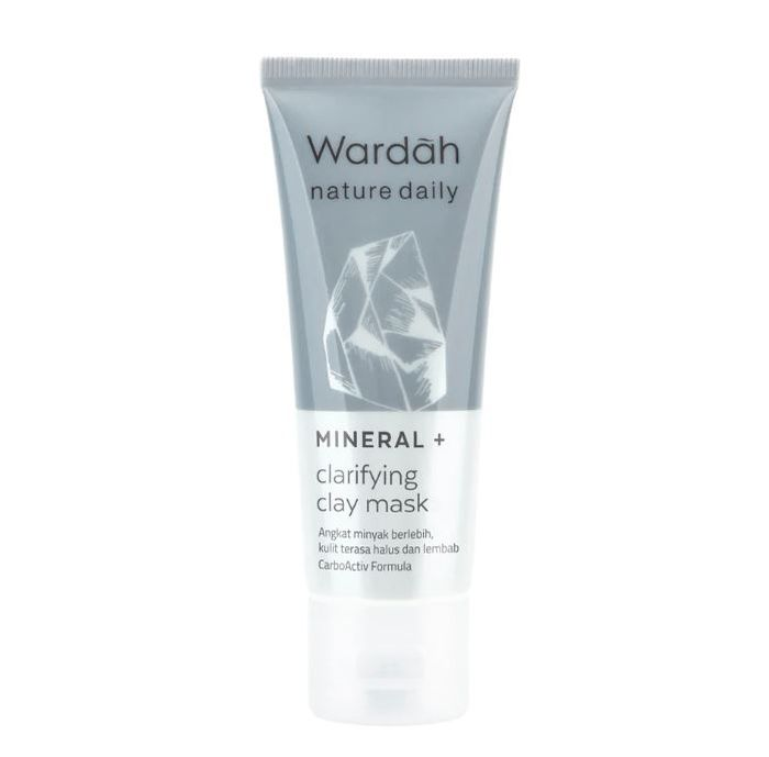Wardah Mineral + Clarifying Clay Mask