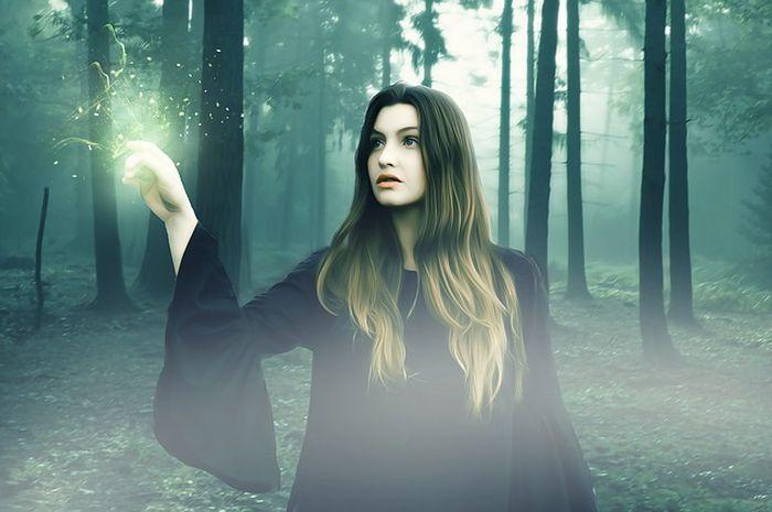 Ilustrasi sihir