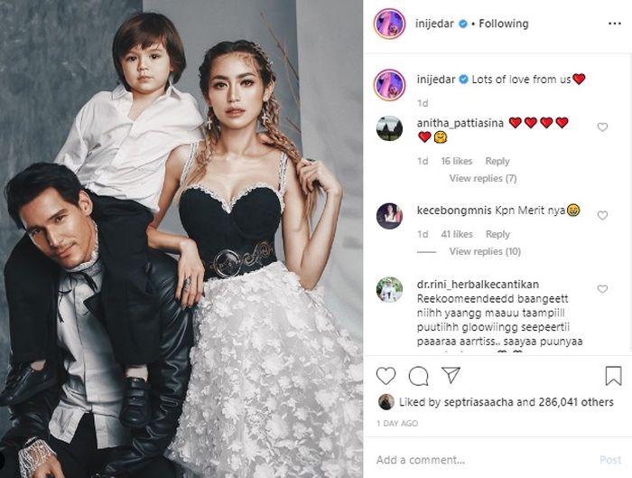 Postingan Jessica yang bikin netizen ngeri