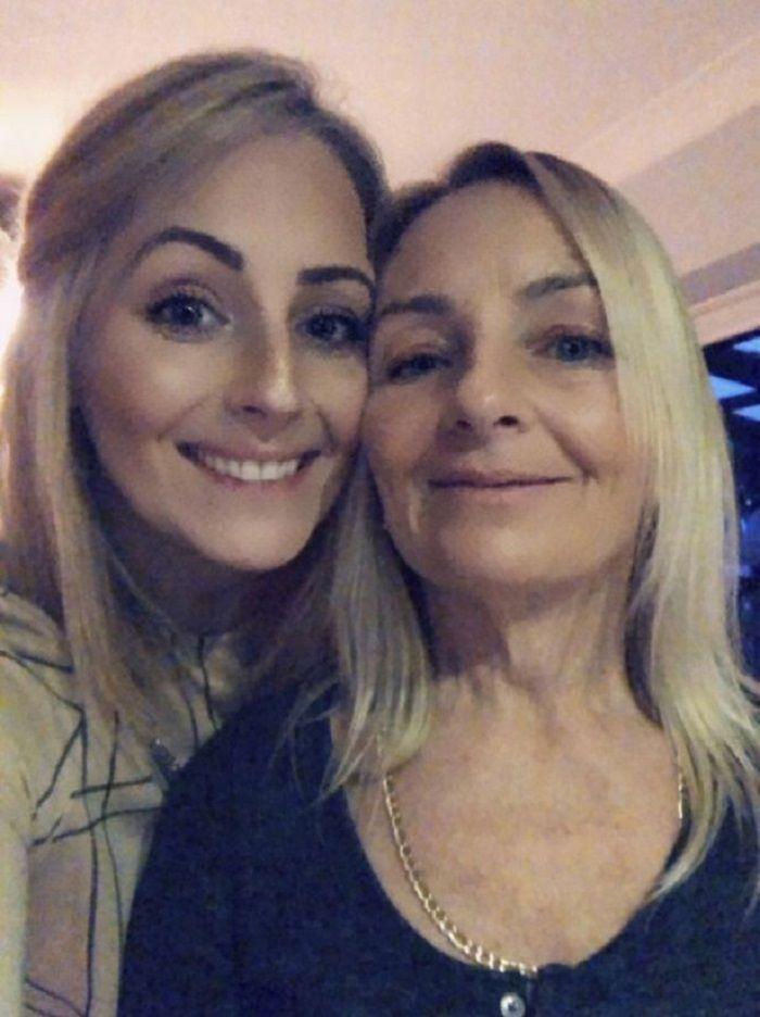 Lauren dan ibunya