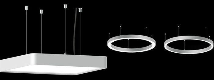 Design premium dan efisien daya lampu pendant.