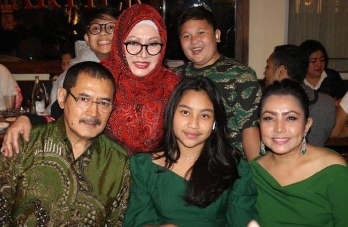 Keluarga Mayangsari dan Tutut Soeharto