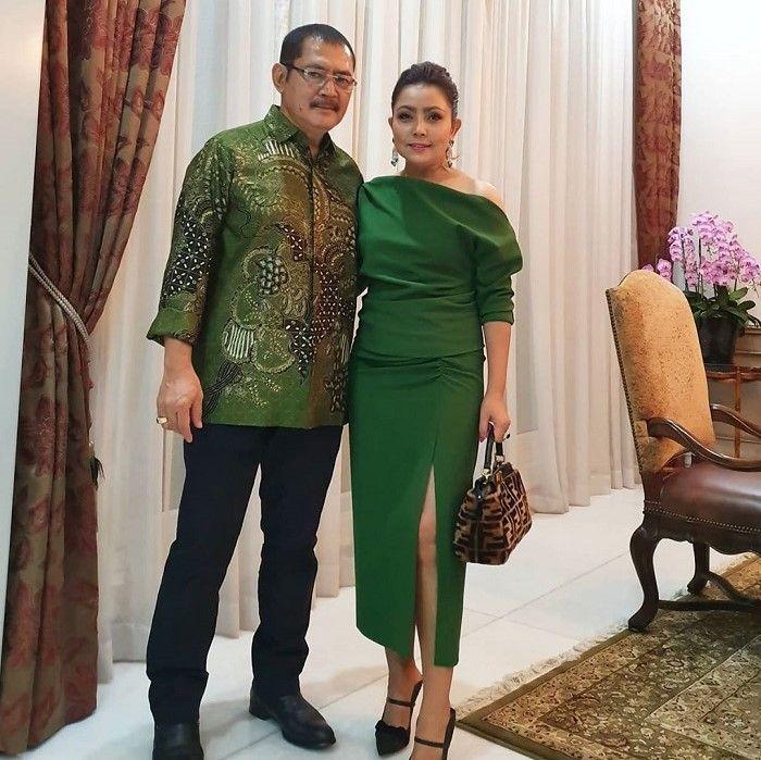 Mayangsari dan sang suami, Bambang Trihatmodjo