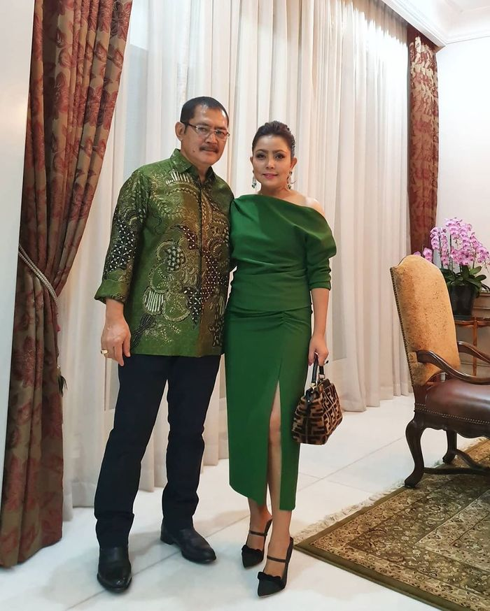 Mayangsari dan Bambang Trihatmodjo