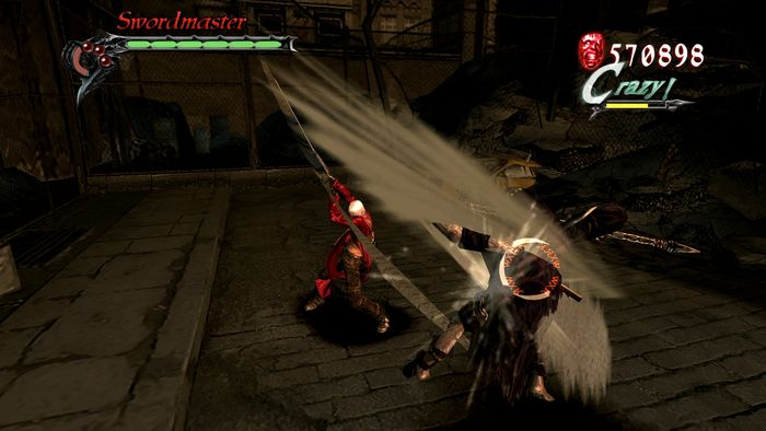 Tampilan game Devil May Cry 3 Special Edition