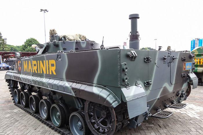BMP-3F, salah satu mesin perang yang dipakai Indonesia