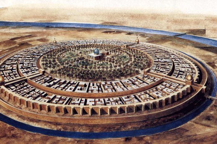 Kota Bagdad, Irak.