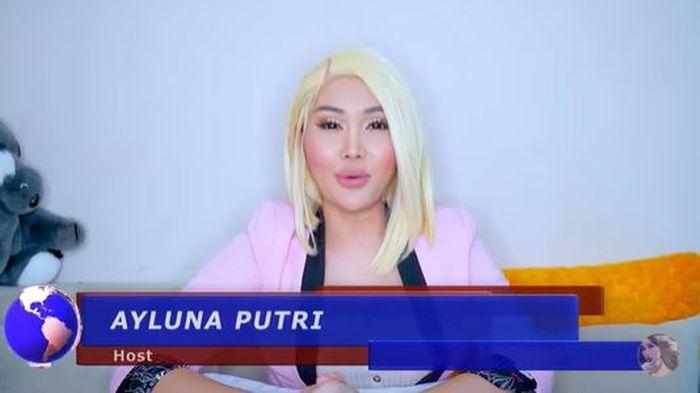 Lucinta Luna sebagai seorang presenter.
