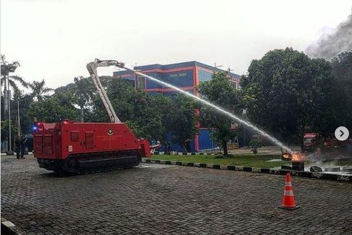 Pemprov DKI Jakarta beli robot pemadam kebakaran senilai Rp37,4.