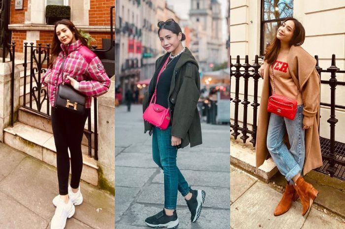 Nagita Slavina kerap tampil modis kenakan berbagai fashion item branded harga fantastis