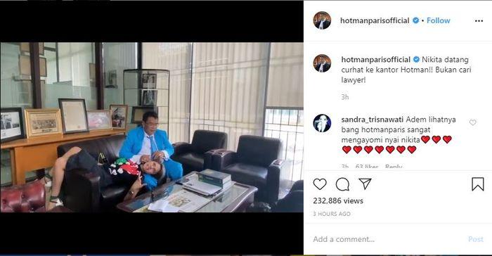 Bercanda Soal Ingin Miliki Anak dari Nikita Mirzani, Hotman Paris: Dia Perempuan yang Tepat Untuk Jadi Pengacara