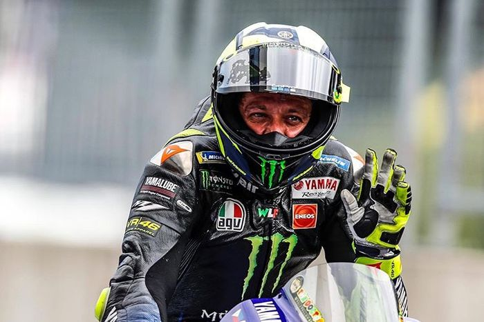 Valentino Rossi salah satu pembalap yang sudah merasakan banyak motor