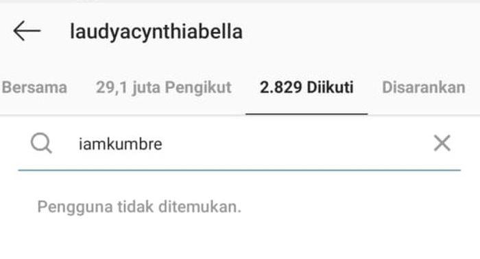 Laudya Cynthia Bella Unfollow akun Instagram suaminya
