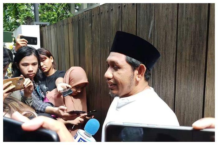 Haji Ahmad Habib, ketua Yayasan Yatim Piatu Daarul Rahman di kediaman BCL kawasan Pejaten Barat, Jakarta Selatan, Selasa (18/2/2020)(KOMPAS.com/ MELVINA TIONARDUS)