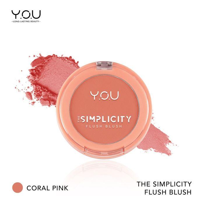 Y.O.U The Simplicity Flush Blush Coral Pink