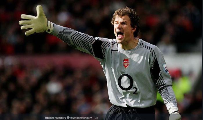 Kiper legendaris Arsenal, Jens Lehmann.