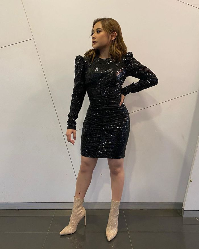 Dress kondangan Prilly Latuconsina