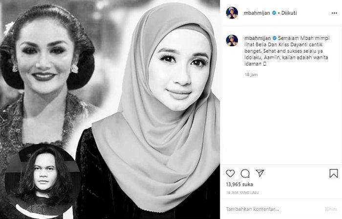 Postingan Mbah Mijan soal Krisdayanti dan Laudya Cynthia Bella