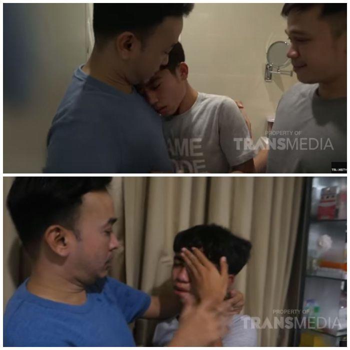 Ruben Onsu pergoki Betrand Peto menangis sesegukan di kamar mandi