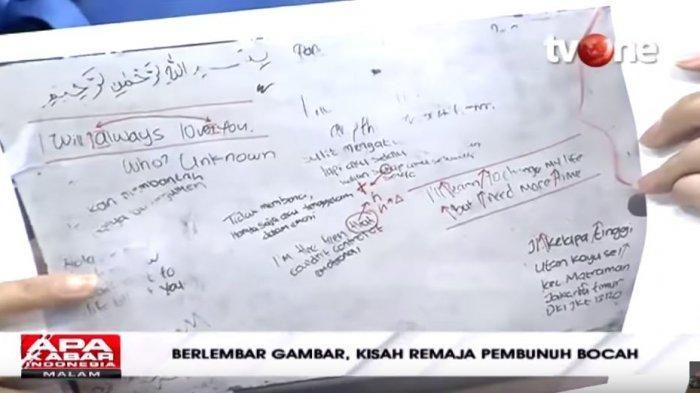 Tulisan tangan NF, YouTube Talk Show tvOne