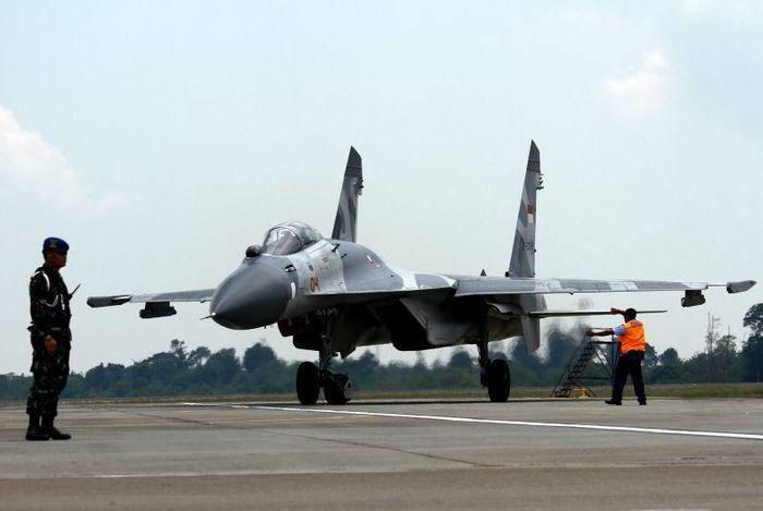 Su-27 TNI AU, Indonesia sudah lebih dulu punya satu skadron Sukhoi