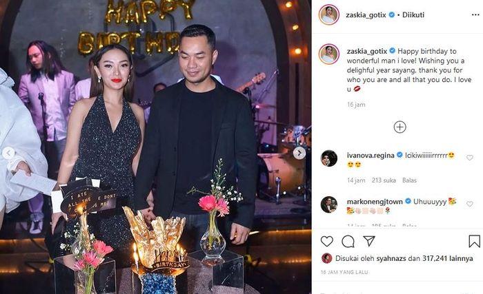 Zaskia Gotik pamerkan pacar barunya, Sirajuddin Mahmud