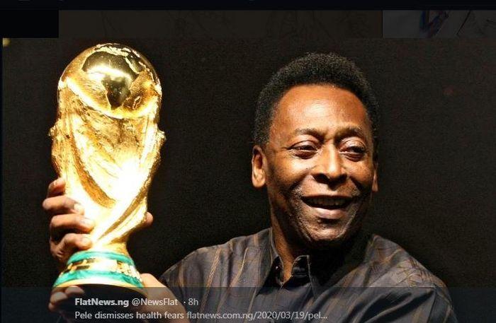Legenda timnas Brasil, Pele.