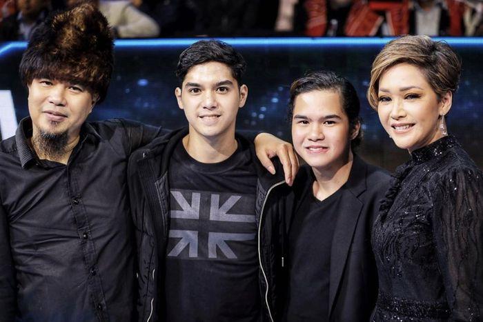 Maia Estianty sempat kembali bertemu dengan mantan suaminya, Ahmad Dhani di acara Indonesian Idol.