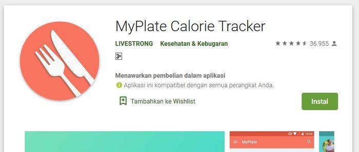 Aplikasi MyPlate