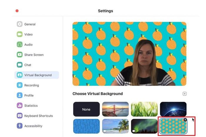 Screenshot Aplikasi Zoom