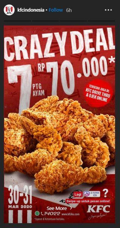 Info Promo Selama Dirumahaja Dari Fast Food Pizza Sampai Roti Semua Kasih Diskon Delivery Semua Halaman Grid Fame