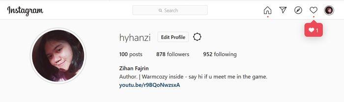 Fitur DM sudah hadir di Instagram versi website.