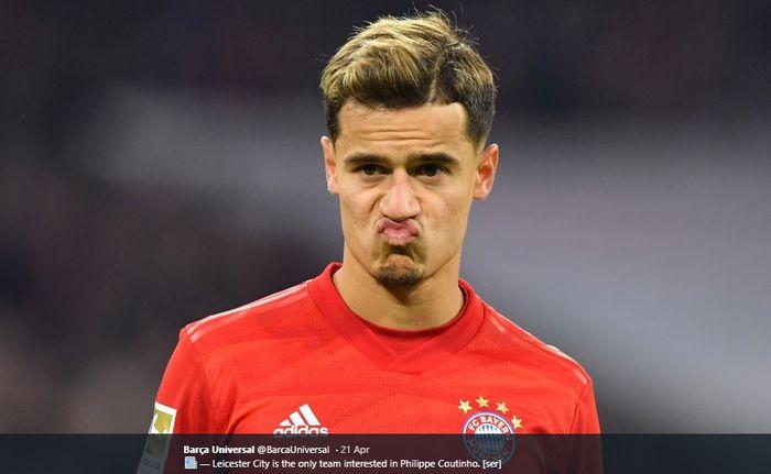 Playmaker Barcelona yang kini dipinjamkan ke Bayern Muenchen, Philippe Coutinho dikabarkan semakin mendekat ke Chelsea.