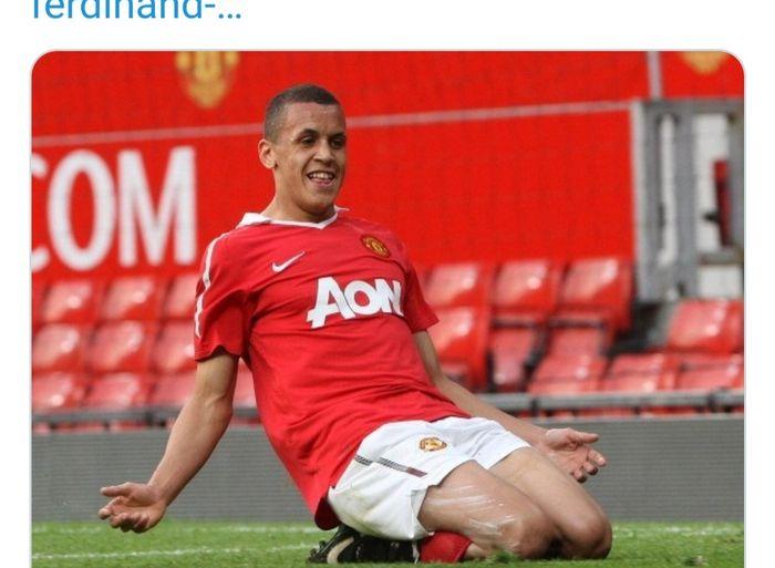 Ravel Morrison saat membela Manchester United.