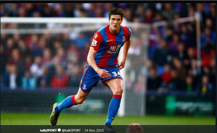 Pemain Crystal Palace, Martin Kelly.
