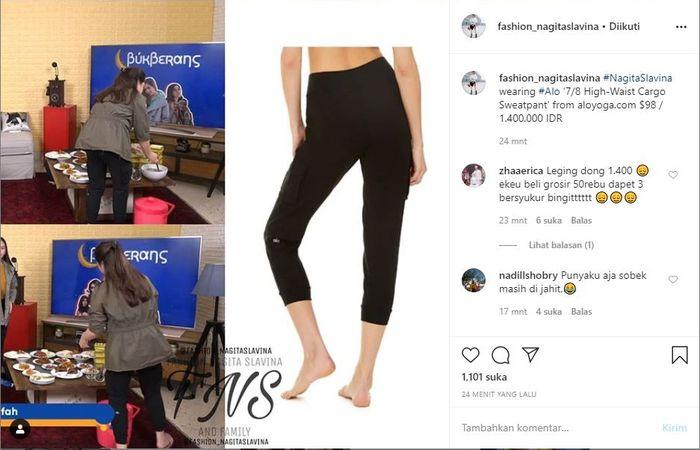 Bikin Warganet Ingin Sungkem Melihat Celana Leggingnya Tampilan Istri Raffi Ahmad Saat Buka Puasa Di Rumah Kembali Jadi Sorotan Segini Harganya Semua Halaman Idea