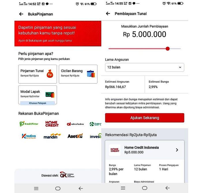 Cara Dapat Pinjaman Online Cepat Lewat Bukalapak Lebih Aman