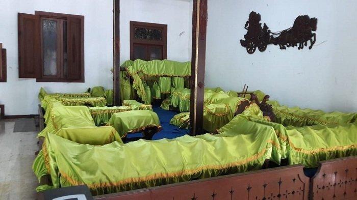 Gamelan di dalam rumah Soeharto