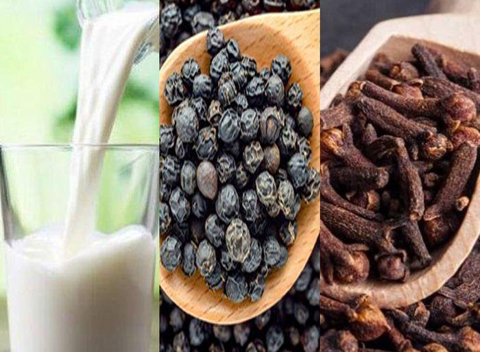 Minum campuran Susu,Lada dan Cengkeh bisa bermanfaat bagi kesehatan