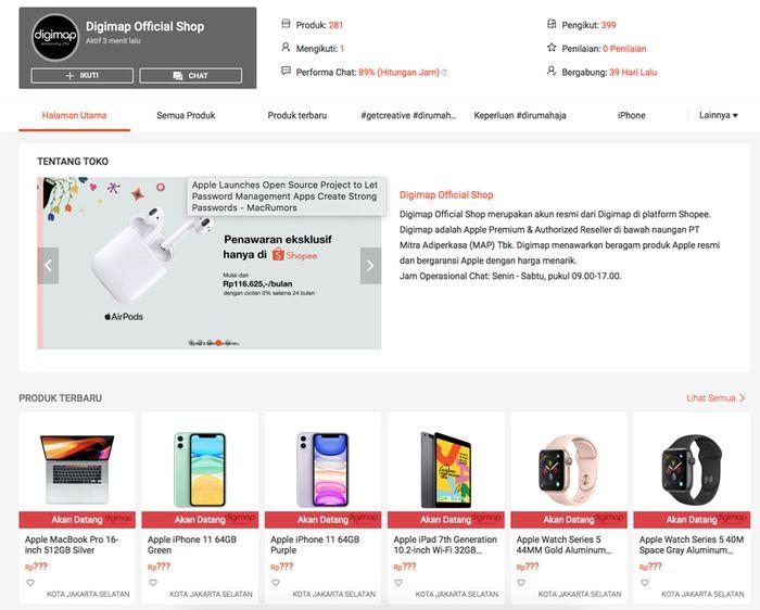 Ibox Dan Digimap Segera Buka Official Shop Di Shopee Indonesia Semua Halaman Makemac