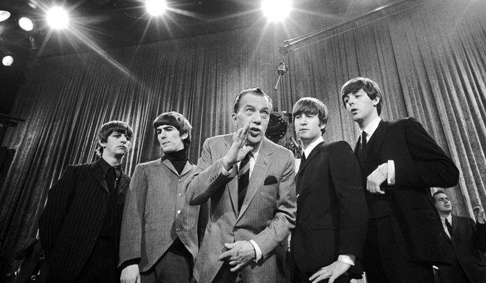 The Beatles di acara Ed Sullivan 1964