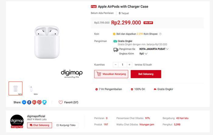 Toko Online Ibox Dan Digimap Di Shopee Resmi Buka Banyak Promo Makemac