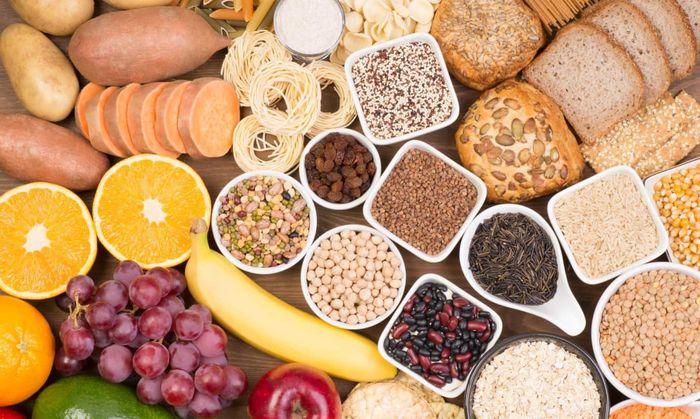 Ilustrasi beragam karbohidrat